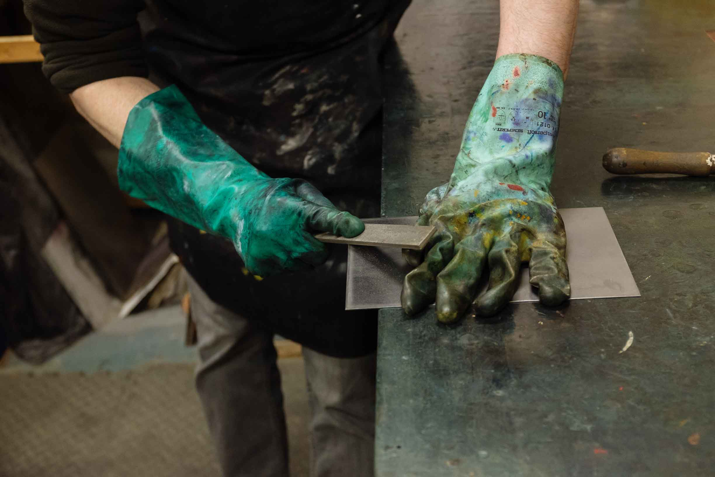 Printmaking Instructional Notes | Dominic Fee